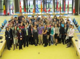 European Commission Trainees, Oct.2012