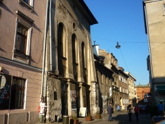 kazimierz with view on the high synagogue © Lena Wulf