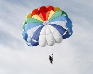 parachute smaller