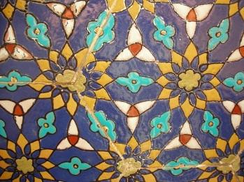 Fragment of tileworks in Samarkand