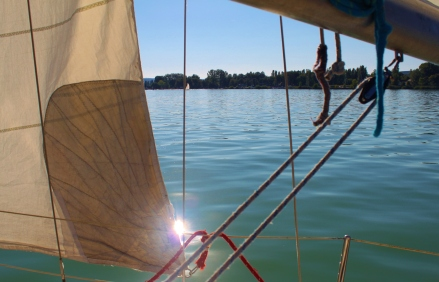Sailing is my new passion!
