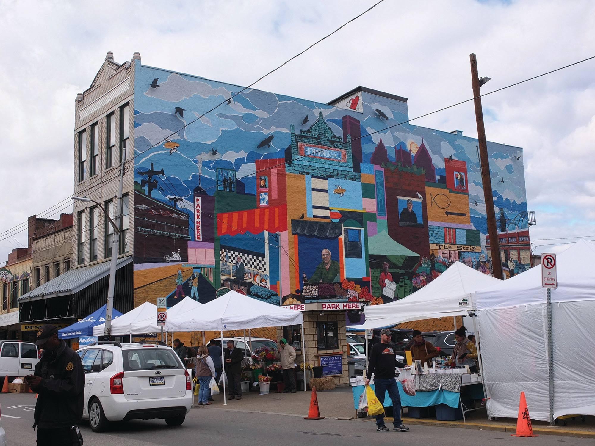 Mural on Market Street