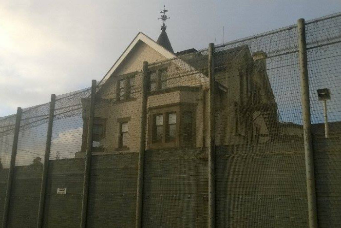 Dungavel Immigration Removal Centre in South Lanarkshirem Scotland.jpg