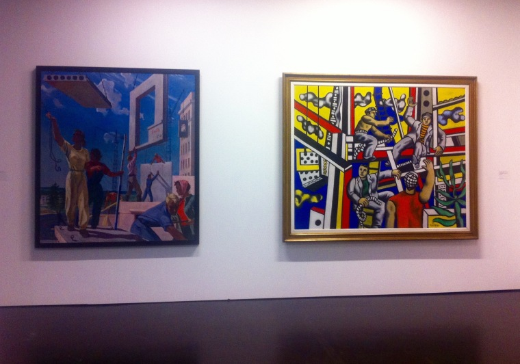 _builders_-by-alexander-deineka-left1959-social-realism-fernand-leger-right1951-expressionism
