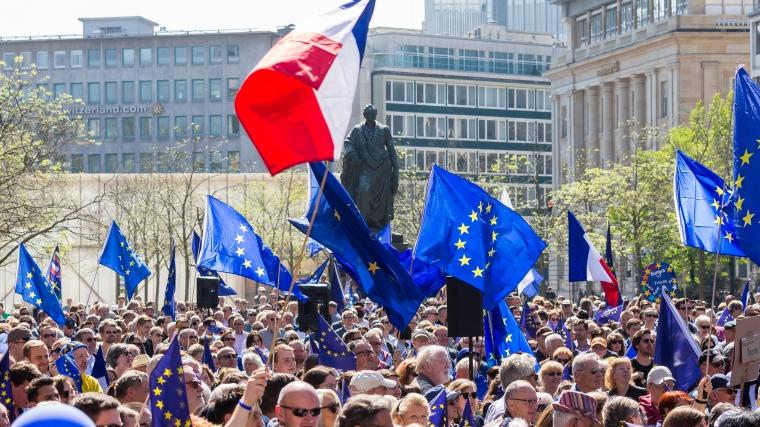 Pulse of Europe in Frankfurt am Main 2017-04-09