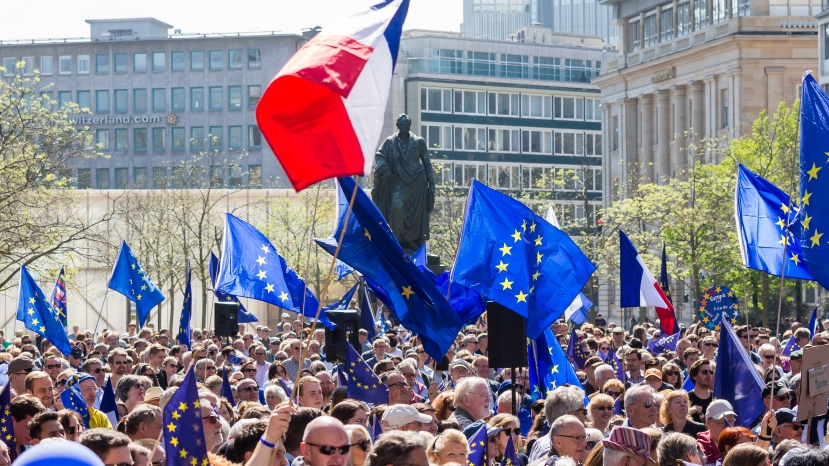 Pulse of Europe in Frankfurt am Main 2017-04-09