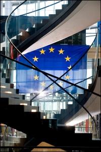 EU flag Strasbourg