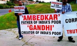 Ambedkar vs Gandhi