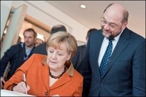 Merkel Schulz 2012